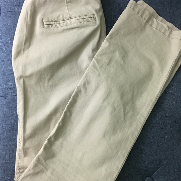 Abercrombie & Fitch Denim - Old Navy khakis and Abercrombie and Fitch blouse